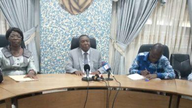 Conf de presse chargée du contrôle des structures de prestations de soins médicaux_Prof Basile Ayivi