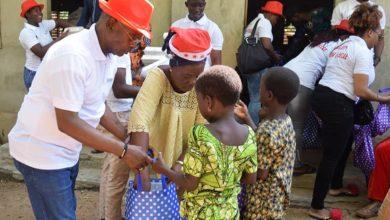 Noël des enfants à Ouinhi : Le couple Koty passe le témoin à une fondation
