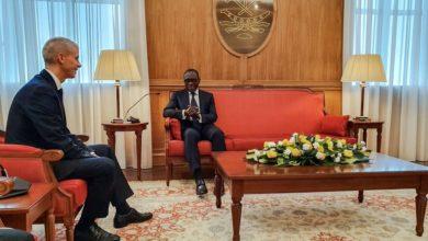 Visite de Franck Rister au Bénin-restitution des biens culturels